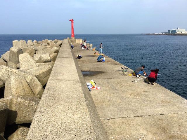 千葉県の釣り場金谷港