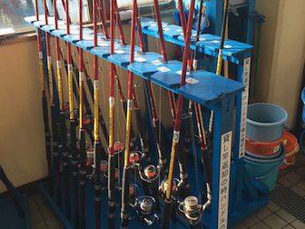 釣り道具がレンタルできる千葉県の釣り場