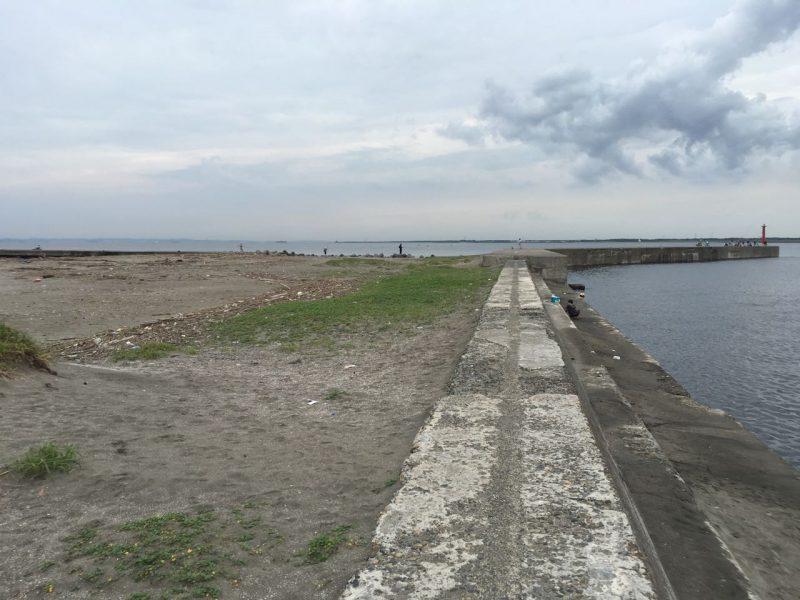 大貫港の釣り場