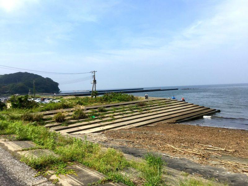 上総湊港の釣り場