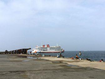 浜金谷港 北港岸壁