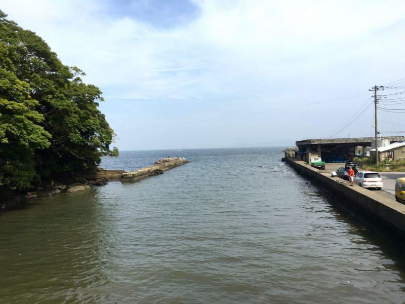 竹岡港の釣り場