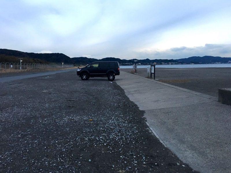 沖ノ島駐車場
