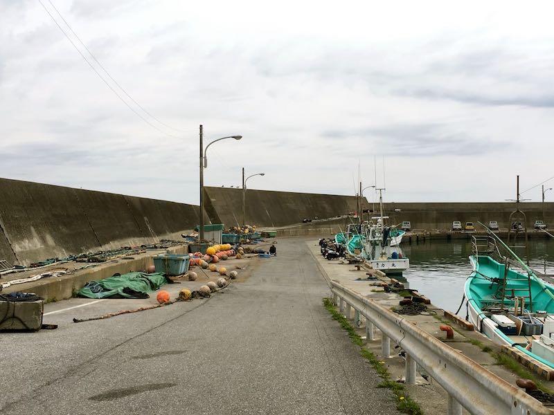 鴨川港の釣り場49