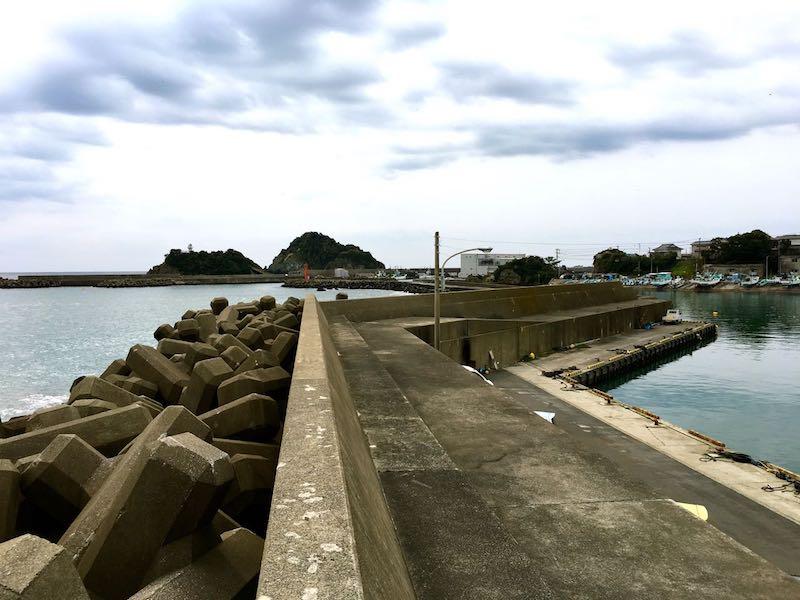 鴨川港の釣り場52