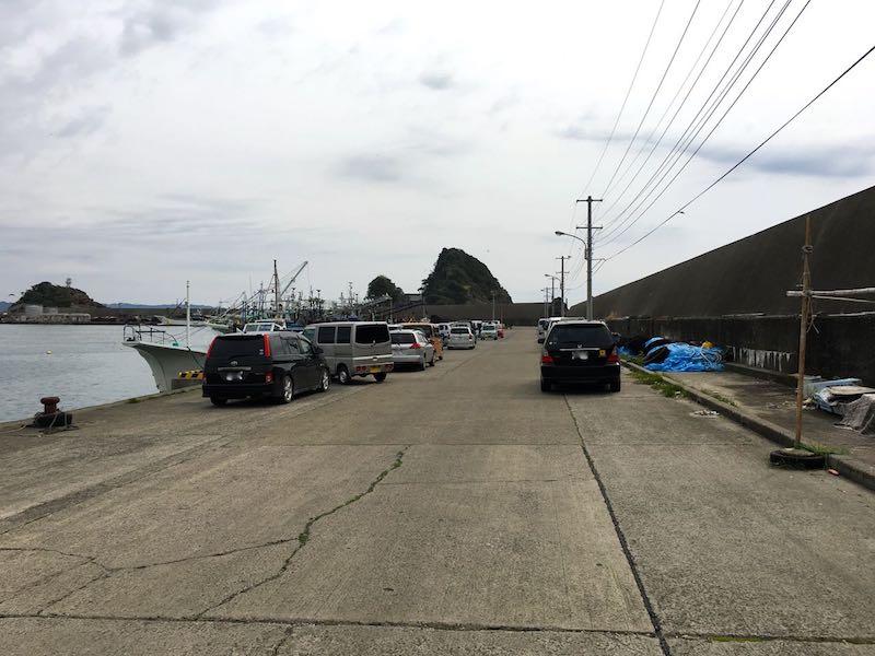 鴨川港の釣り場46