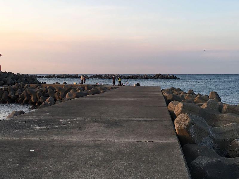 乙浜港の釣り場20