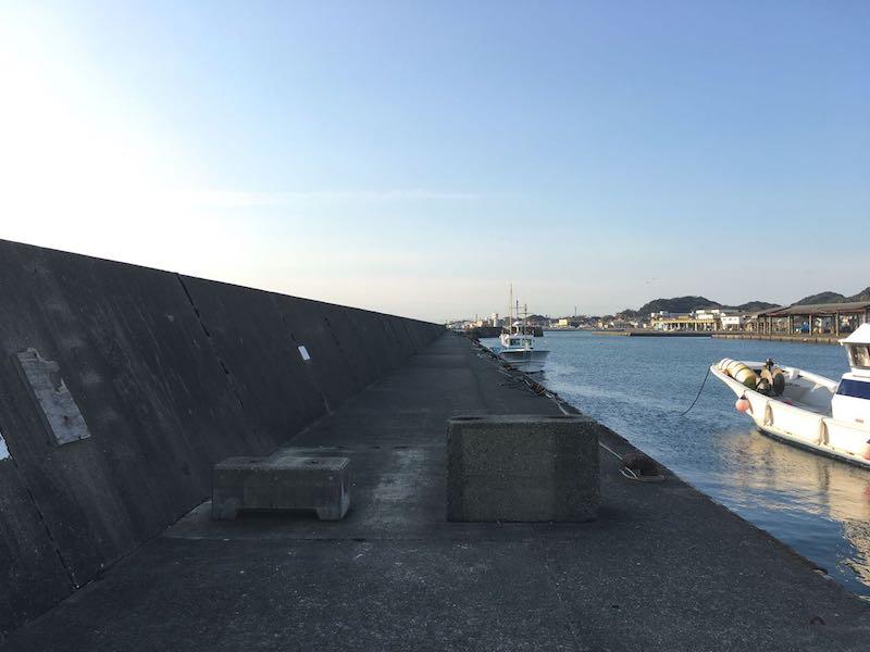 千倉港平舘港の釣り場11