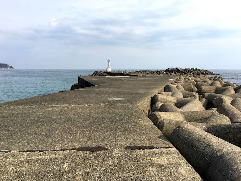 天津港の釣り場35