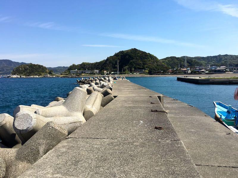 龍島港の釣り場16