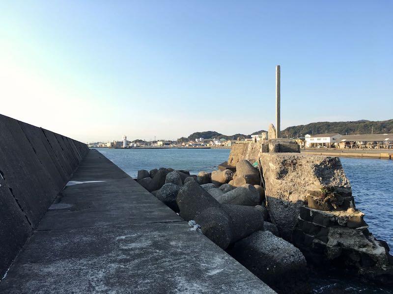 千倉港平舘港の釣り場17