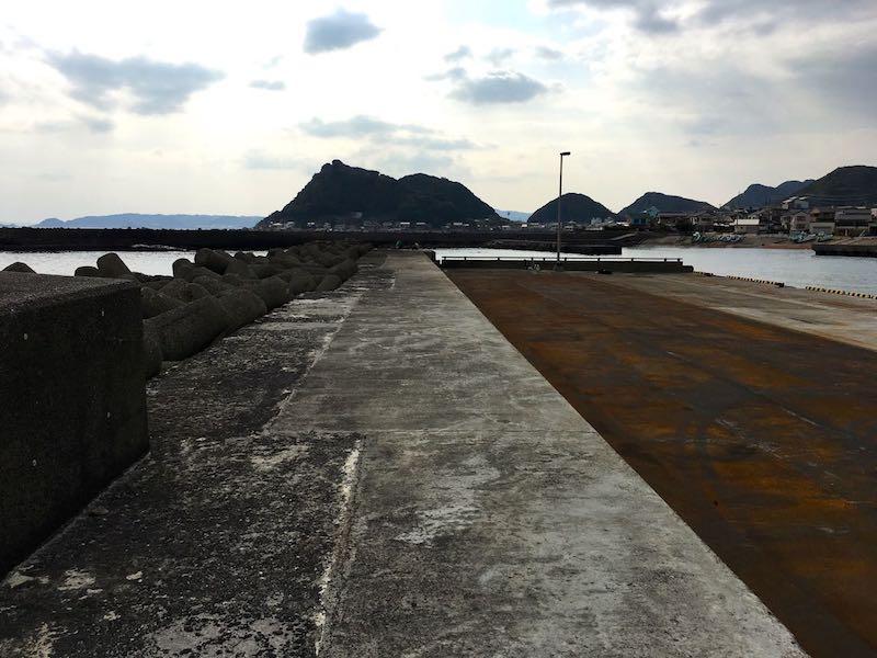 天津港の釣り場19