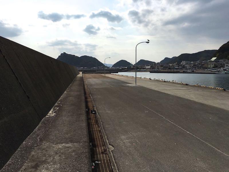 天津港の釣り場22
