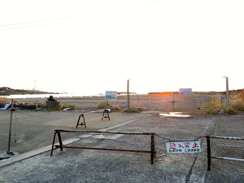乙浜港の釣り場15