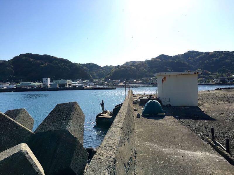 保田港の釣り場09