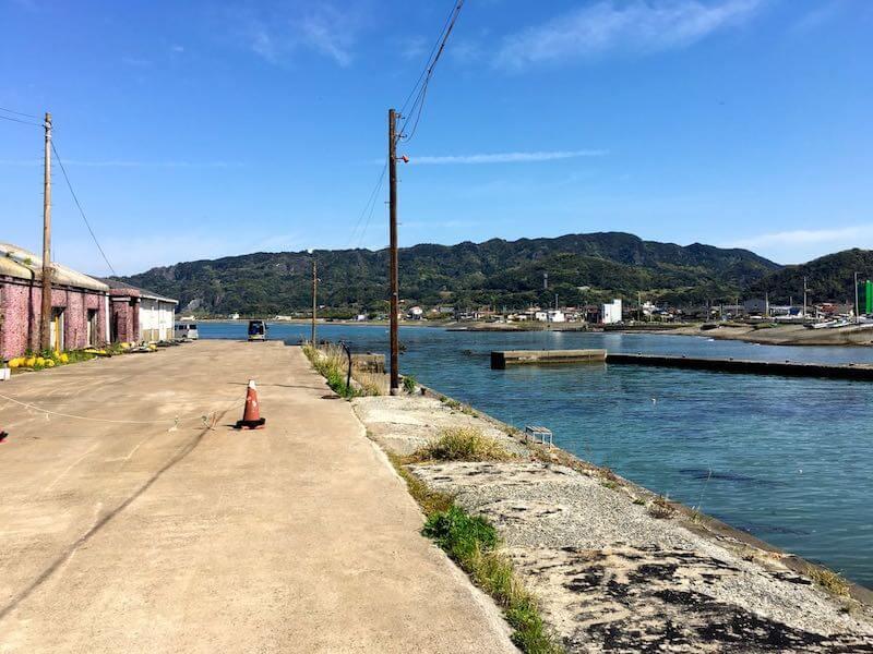 保田港の釣り場18