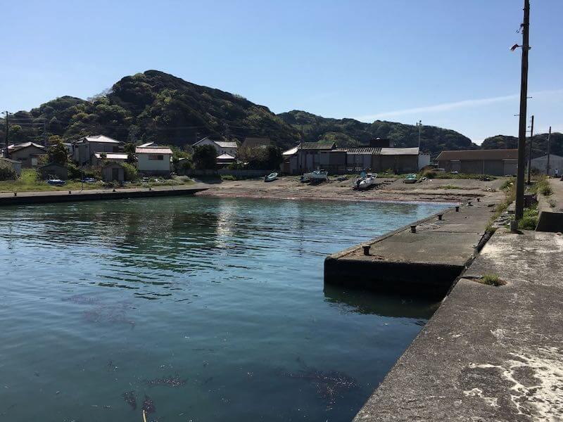 保田港の釣り場17