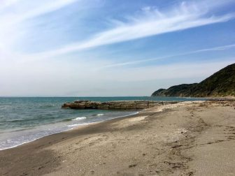 新舞子海岸の釣り場10