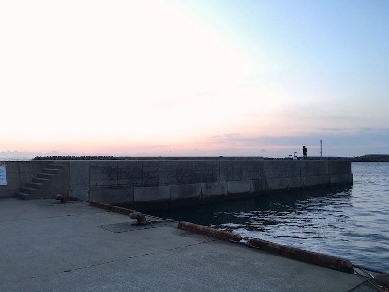 乙浜港の釣り場03