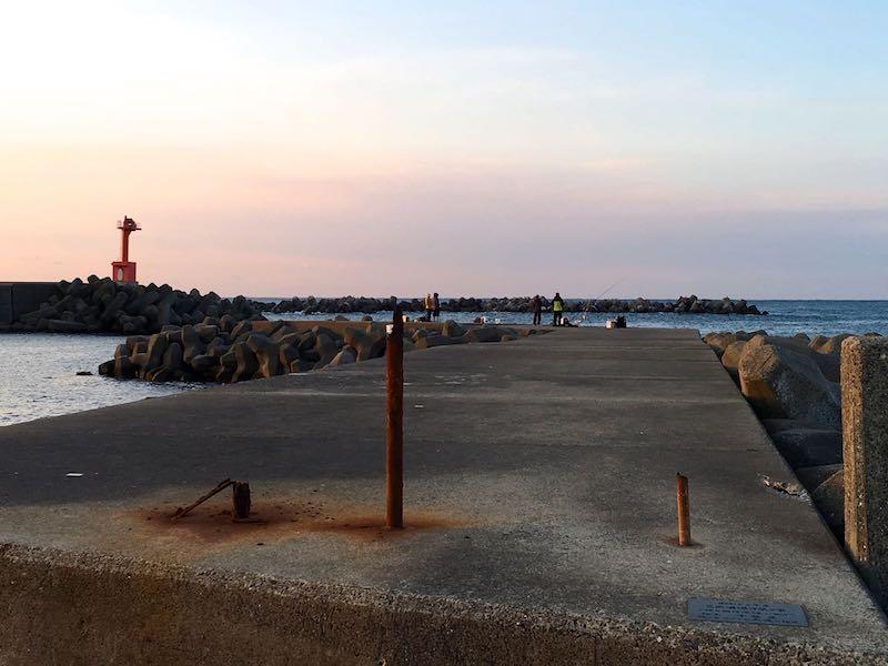 乙浜港の釣り場19