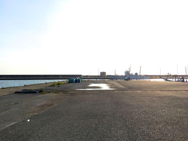 千倉港平舘港の釣り場19