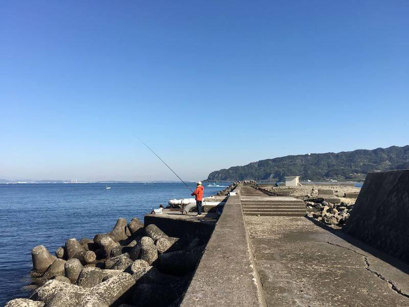 保田港の釣り場06