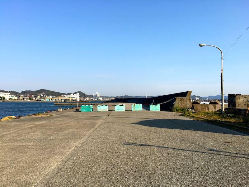 千倉港平舘港の釣り場26