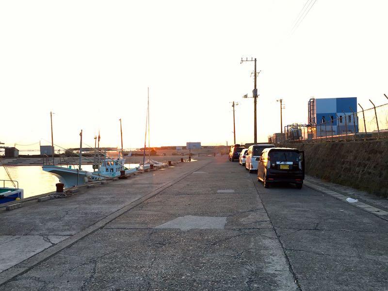 乙浜港の釣り場14