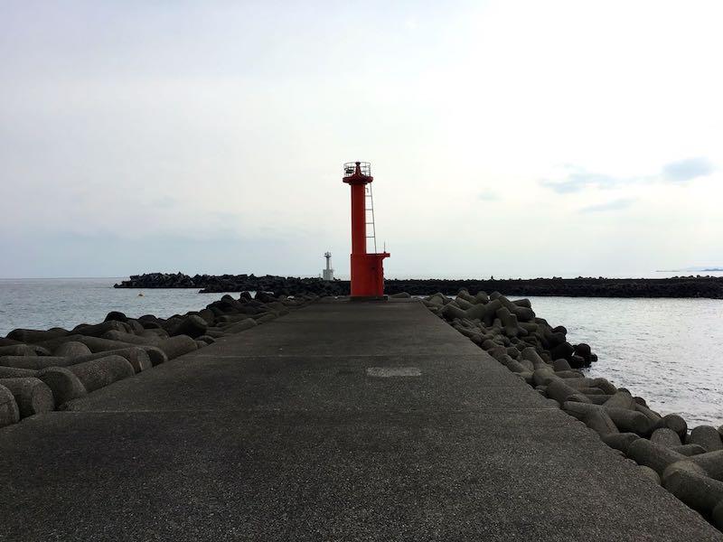 天津港の釣り場18