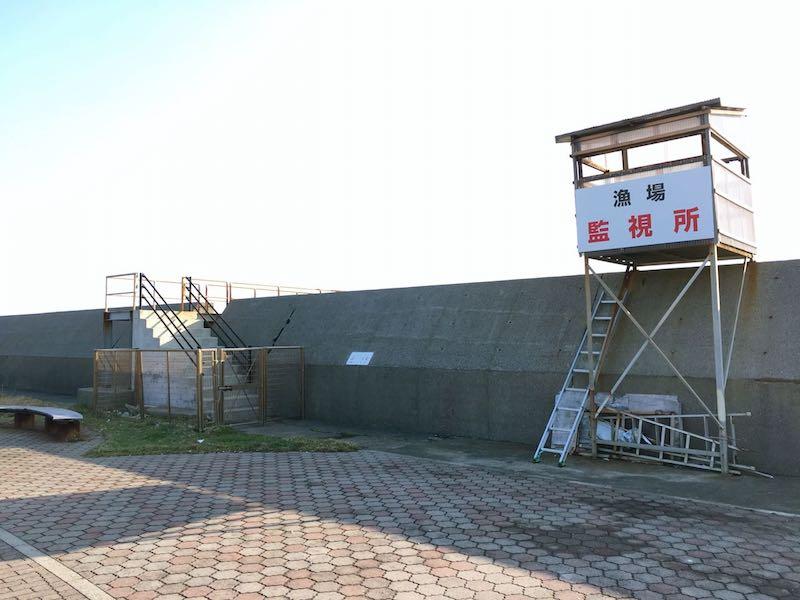 千倉港平舘港の釣り場25