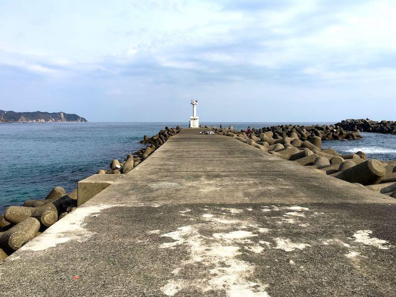 天津港の釣り場37