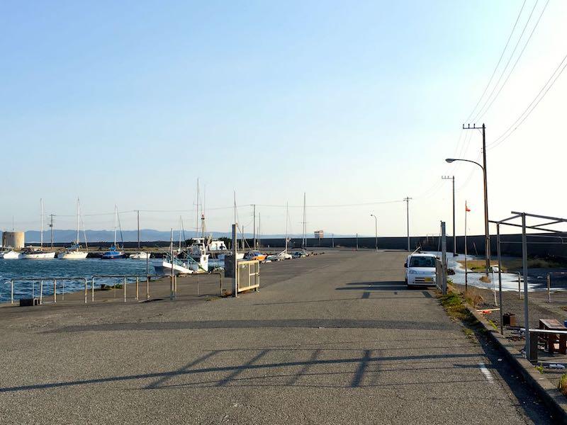 千倉港平舘港の釣り場22