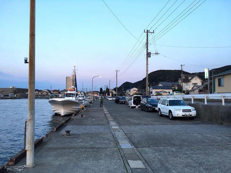 乙浜港の釣り場11