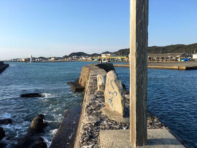 千倉港平舘港の釣り場18