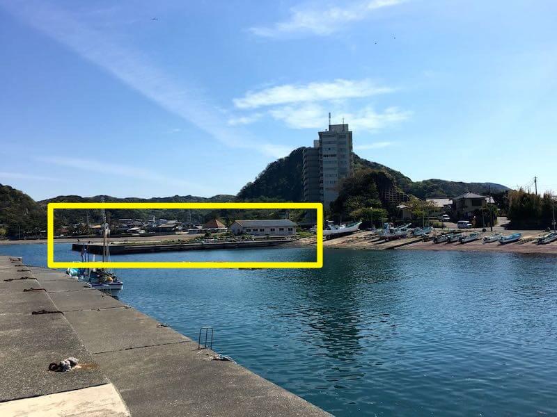 龍島港の立入禁止