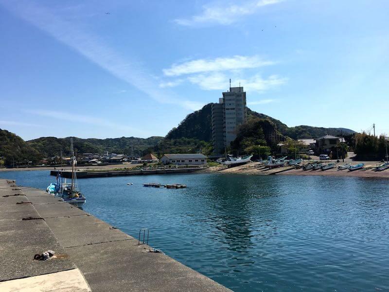 龍島港の釣り場18