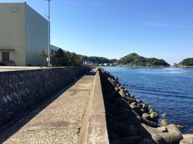 保田港の釣り場11