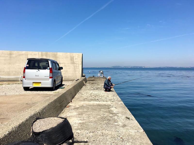 保田港の釣り場16