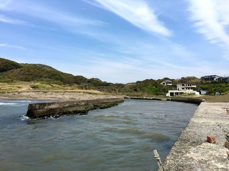 新舞子海岸の釣り場12