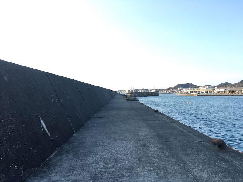 千倉港平舘港の釣り場12