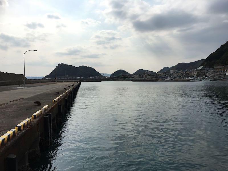 天津港の釣り場13