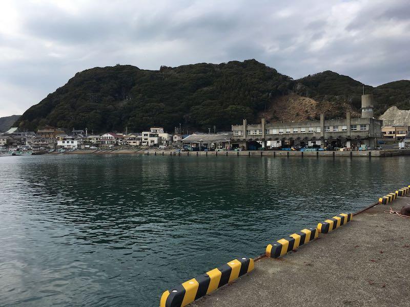 天津港の釣り場12