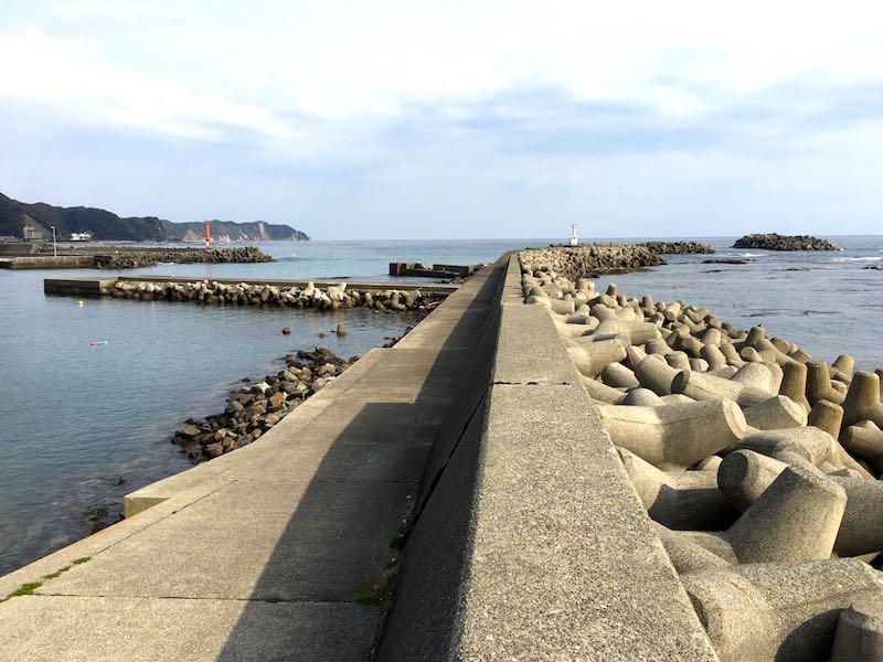 天津港の釣り場32