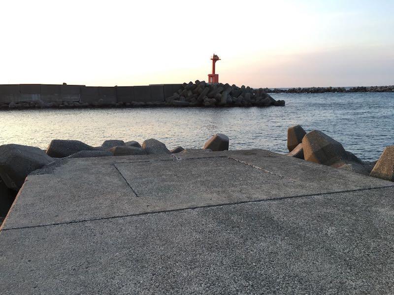 乙浜港の釣り場22