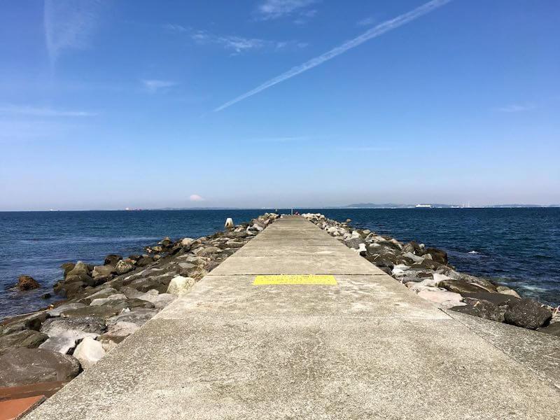 龍島港の釣り場09