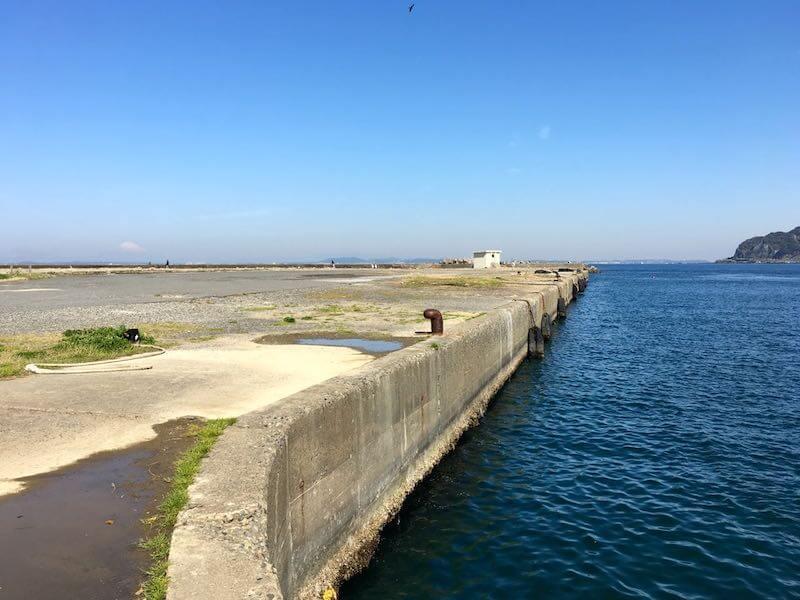 保田港の釣り場12