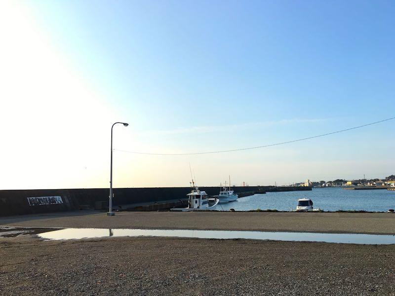 千倉港平舘港の釣り場10