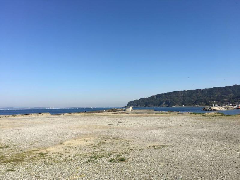 保田港の釣り場10