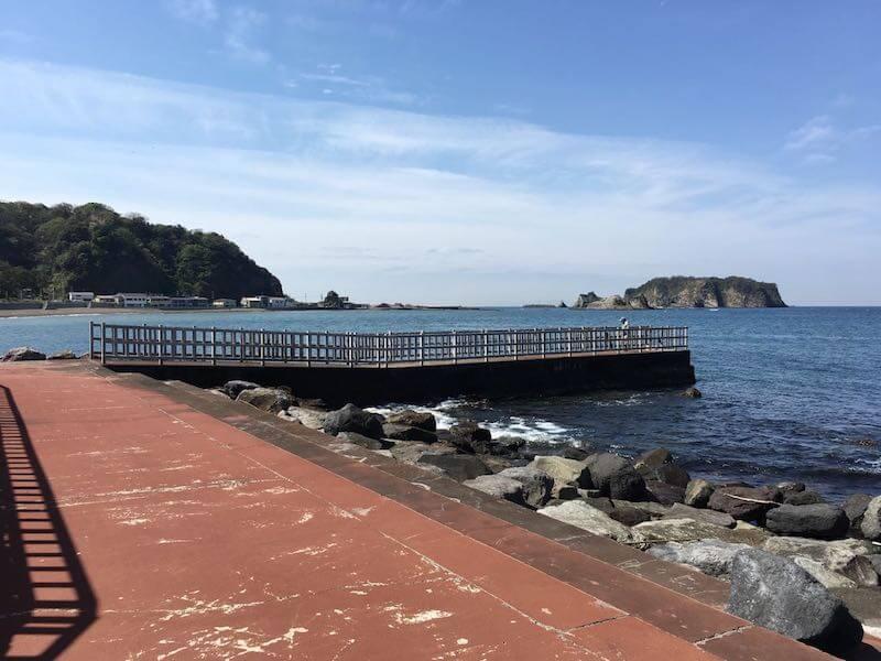 龍島港の釣り場10