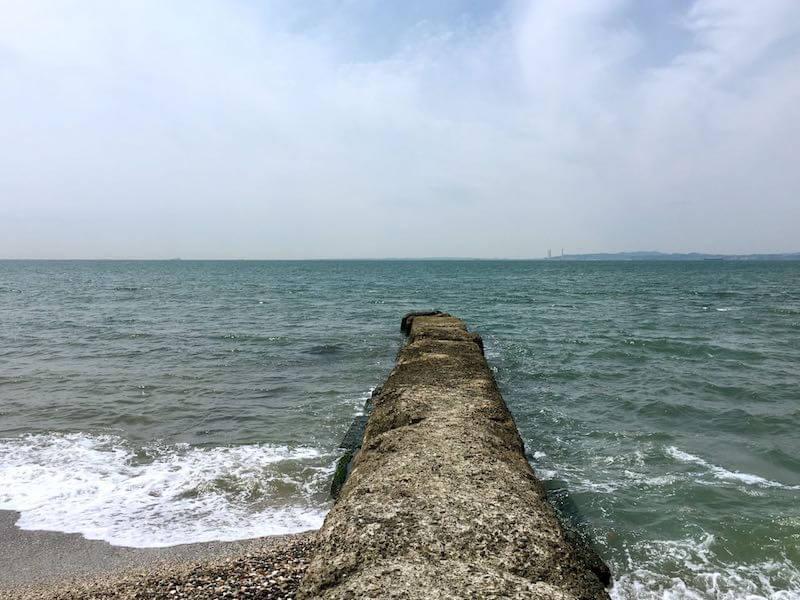 新舞子海岸の釣り場09
